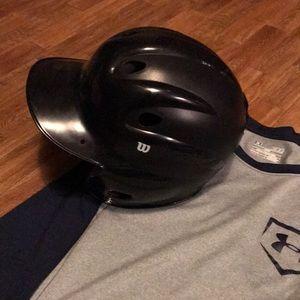 Wilson batting helmet